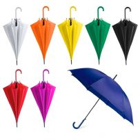 Automatic Plastic Crook Handle Umbrella